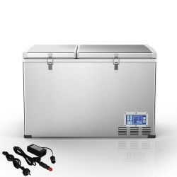 Kenner 100L Stainless Steel Portable Fridge Freezer Cooler  [C-BCD100]