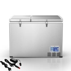 Kenner 125L Stainless Steel Portable Fridge Freezer Cooler  [C-BCD125]