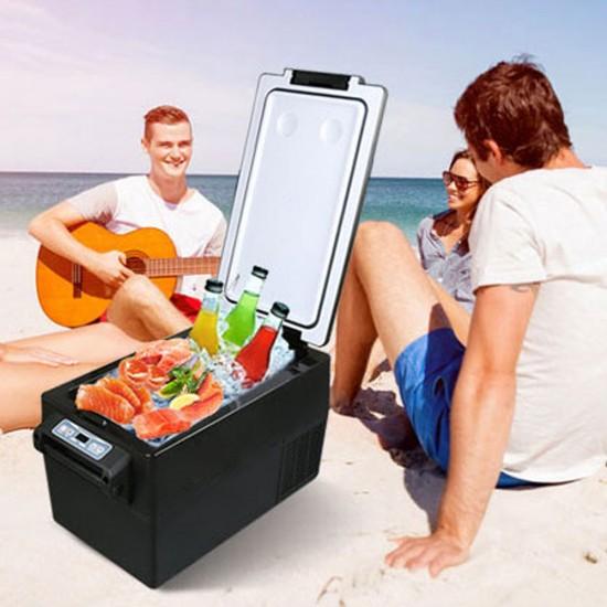 Kenner 35L Black Portable Freezer Fridge Cooler [C-BCD35-BLACK]