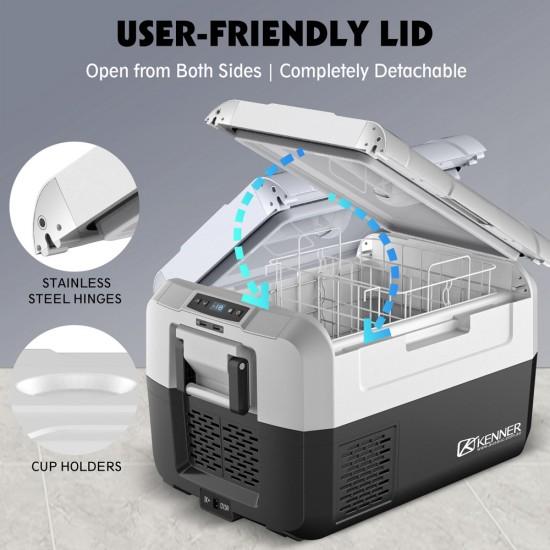 Kenner 35L Portable Fridge Freezer Cooler  [C-CFR35]