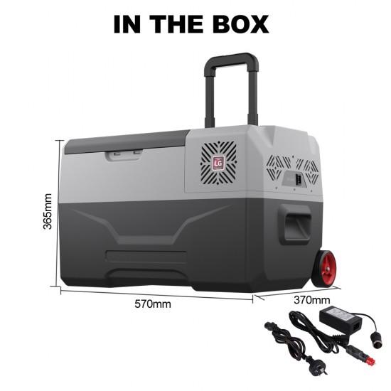 Kenner 35L Portable Fridge Freezer Cooler with Battery [C-CX35L-L-BT]