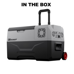 Kenner 35L Stainless Steel Portable Fridge Freezer Cooler  [C-CX35L]