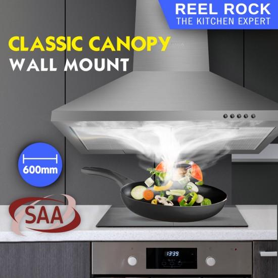 ReelRock 90cm Canopy Rangehood [H-TD0860K]