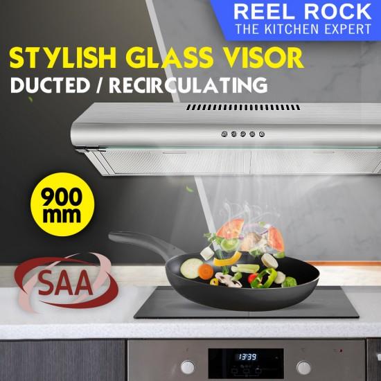 ReelRock 90cm Fixed Rangehood [H-TF2290B]