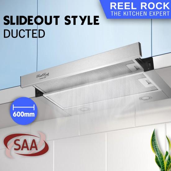 ReelRock 60cm Slideout Rangehood [H-TH0460S]