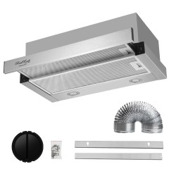 ReelRock 60cm Slideout Rangehood [H-TH0460S]