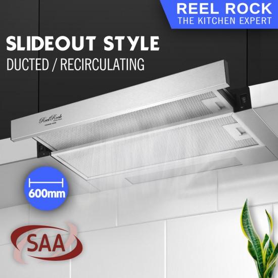 ReelRock 60cm Slideout Rangehood [H-TH1060B]