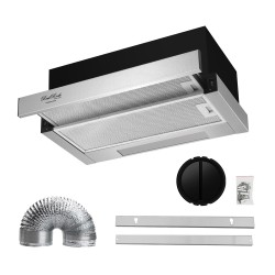 ReelRock 60cm Slideout Rangehood [H-TH1060B]