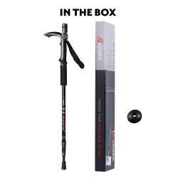 Kenner Multi-function Antishock Walking Poles Trekking / Hiking Sticks Monopod