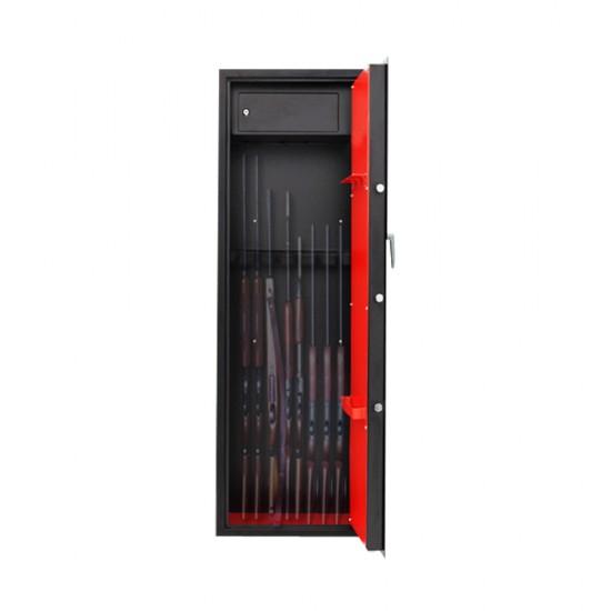 Kenner 8 Rifle Storage Gun Safe [KN-1458B-M]