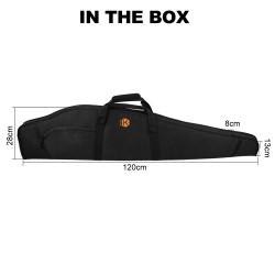 Kenner 48 Inch Rifle Gun Bag Shotgun Case with Thick Pad [KN-B1100]