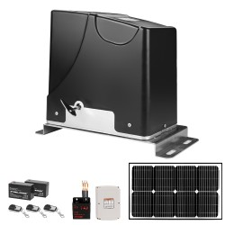 Kenner Electric Automatic Sliding Gate Opener with Solar Backup System [KND1500]
