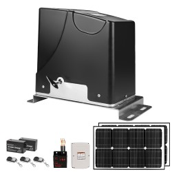 Kenner Electric Automatic Sliding Gate Opener with Full Solar Power System [KND1500]