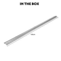 Kenner Sliding Gate Hardware - 1m U Groove Track [HGR10]