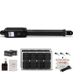 Kenner 40W Full Solar Single Actuator Automatic Swing Gate Opener [KNL200E-01-40N12]