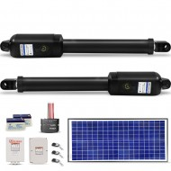 Kenner 40W Full Solar Double Actuator Automatic Swing Gate Opener [KNL200E-02-N40N12]