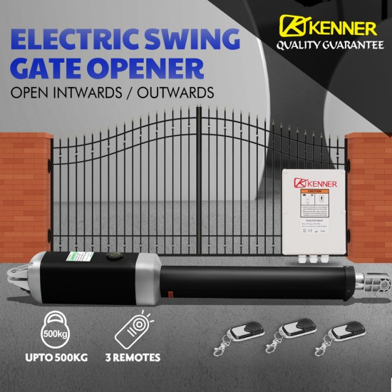 Kenner Single Actuator Automatic Swing Gate Opener [KNL2401]