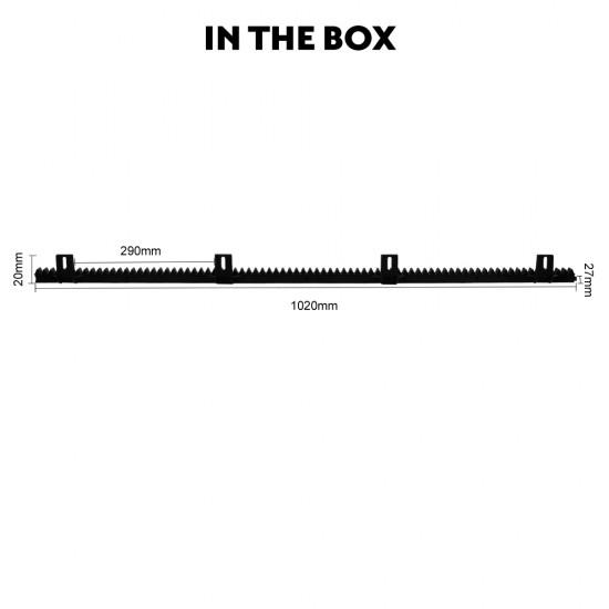 1m Nylon Rack for Kenner Sliding Gate Opener [KNN01]