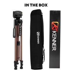 Kenner 1.47m Camera Tripod with Pan/Tilt Head [KT-3530]