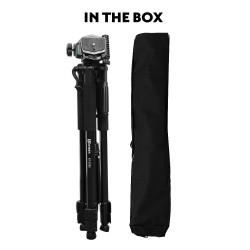 Kenner 1.70m Camera Tripod with Pan/Tilt Head [KT-3760]