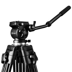 Kenner 1.80m Camcorder Camera Tripod with Fluid Head Bowl [KT-717-1.8M]