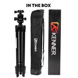 Kenner 1.52m Carbon Fiber Camera Tripod with Ball Head [KT-C614]