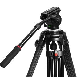 Kenner 1.89m Camcorder Camera Tripod with Fluid Pan Head [KT-V100L]