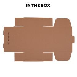 50 pcs Mailing Box Carton 220x160x77mm for Australia POST 1kg  [PAC-B-220160077W-50]