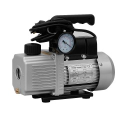 CM 1.8CFM 1 Stage Vacuum Pump with Built-in Gauge for Refrigerant Air Condition [VP-130G]