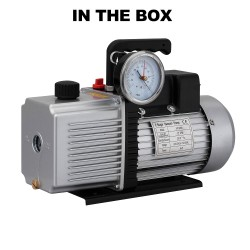 CM 12CFM 2 Stage Vacuum Pump with Built-in Gauge for Refrigerant Air Condition [VP-2200G]