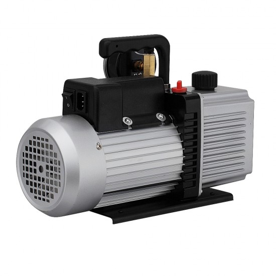CM 9CFM 2 Stage Vacuum Pump with Built-in Gauge for Refrigerant Air Condition [VP-290G]